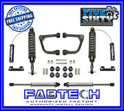 Fabtech K7043dl 2 Upper Control Arm 2.5 Co Resi/dl For 07-15 Tundra 2wd/4wd