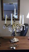 Early Centry Antique 6 Light Table Top Chandelier Lamp. Maybe 1930's Vintage.