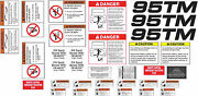 Trackmobile 95tm Decal Kit - Very High Quality Aftermarket Decals