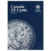 Canada 25 Cents Coin Folder Number Five - Whitman Publishing Cor - New Hardcov