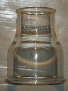 4 X 2 Straight Reducer / Increaser Pyrex Glass 894222 Lot Of 3