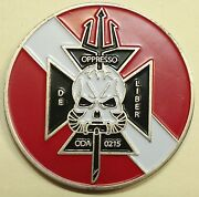 10th Special Forces Gp Airborne 2nd Bn A Co. Combat Diver Army Challenge Coin