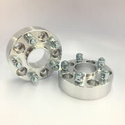 2pc Wheel Spacers Adapters 5x105 Hubcentric ¦ 12x1.5 ¦ 56.5 Cb ¦ 38mm 1.5 Inch