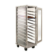 New Age 98063 Enclosed Mobile Display Cabinet W/ 10 Pairs Angle Runners W/ Stops