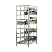 New Age 99381 Economy First In First Out Can Rack W/ 156 10 Can Capacity