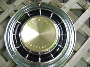 1961 Chrysler New Yorker Fifth Ave Hubcap Wheel Cover Antique Vintage Classic