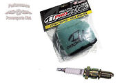 Yamaha Tune Up Pre-oiled Rtu Air Filter And Spark Plug For Blaster 200 1988-2000