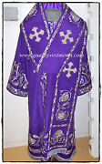 Orthodox Bishop's Vestment Embroidered Purple Gold Or Any Color