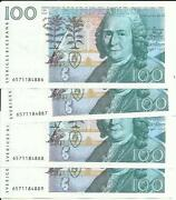 Sweden 100 Kronor P 57. One Note. Xf Condition. 5rw 08ago