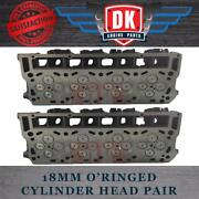 Ford Powerstroke 6.0l - New O'ring Cylinder Heads 2 Complete With Valve Train