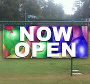 Now Open Advertising Vinyl Banner Flag Sign Large Sizes Business Signs Usa