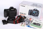 New Canon Eos 60d With Canon Ef-s 18-55mm Zoom Lens No Charger