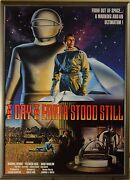 The Day The Earth Stood Still Movie Poster Framed Beautiful Great Condition