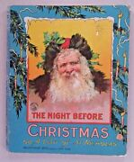 The Night Before Christmas, Or A Visit Of St Nicholas C 1900 Mcloughlin Hc