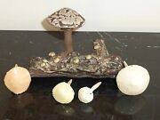 LISTED ARTIST PAUL BELLARDO IMPRESSIVE ARTWORK CERAMIC FUNGUS COLLECTION