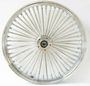 Dna Chrome Front Mammoth 52 Spoke 23x3.50 Wheel 00 - 06 Fxstb.d 00 - 05 Fxdwg