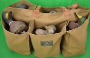 'orvis Canvas Tote Carrier W/ 6 Duck Decoys'
