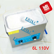 Erikc Common Rail Fuel Injector Cleaning System Tool Ultrasonic Cleaner 110v 6l