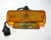 1965 Chevy Chevelle El Camino Parking Lamp Amber Light Assembly Lh Driver Side