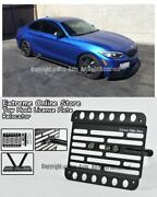 14-up For Bmw 2-series M-sport And M235i W/ Pdc License Plate Bracket Tow Hook F22