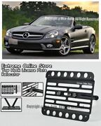 09-12 For Benz Sl-class No Pdc Front License Plate Bracket Bumper Tow Hook R230