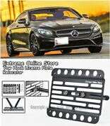 2015-up For Benz S550 4matic Coupe Front License Plate Bracket Tow Hook C217 2dr