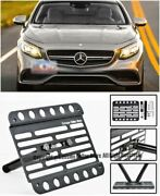 2015-up For Benz S63 S65 Amg Coupe Tow Hook License Plate Front Bracket C217 2dr