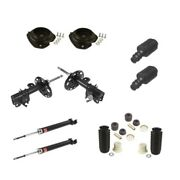 Fits Nissan Altima L4 / V6 07-12 Struts And Shocks Kit W/ Mounting Kit And Sleeves