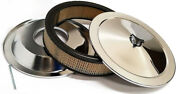 14 Chrome Air Cleaner Kit Breather Filter Recessed Base Hot Rat Rod Sbc Bbc