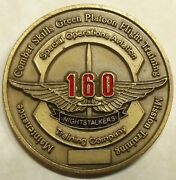 160th Special Operations Aviation Reg Soar Training Co Army Challenge Coin