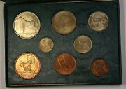 Coins Of Ireland Government Issued Uncirculated Coin Set Mixed And Scarce Dates Bu