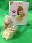 Hallmark Precious Moments 2009 Belle And Chip Beauty And Beast Disney Ornament