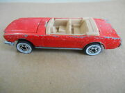 Vintage Hot Wheels Diecast 1965 Ford Mustang Convertible 165