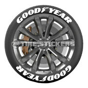 Tire Lettering - Good Year - 1.5 For 17 And 18 Wheels 8 Decals