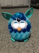 Blue Waves Furby Boom Blue And Teal Interactive Toy 2013 Hasbro Works Vgc