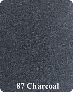 20 Oz Cut Pile Marine Outdoor Bass Boat Carpet - 8.5and039 X 25and039 - Charcoal Gray
