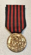 Italy Ww2 Expedition Albania Commemorative Medal Albanian Campaign 1939 Type C