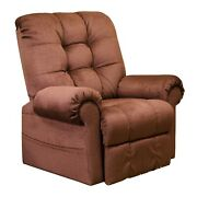 Catnapper Large Scale Omni 4827 Power Lift Chair And Recliner - Merlot Fabric