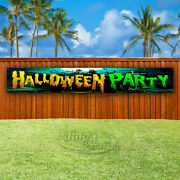 Halloween Party Advertising Vinyl Banner Flag Sign Large Sizes Usa Costumes
