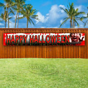 Happy Halloween Advertising Vinyl Banner Flag Sign Large Sizes Usa Costumes