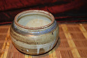 """Vintage Handmade Pottery Planter/Vase Handcrafted Clay Art Pottery 6 1/2""""x5"""""""