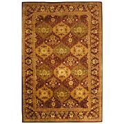 Hand-tufted Antiquity Wine Wool Area Rug 9' 6 X 13' 6