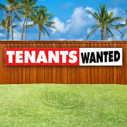Tenants Wanted Advertising Vinyl Banner Flag Sign Large Huge Xxl Sizes