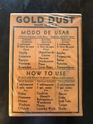 Vintage Gold Dust Washing Powder And Scouring Cleanser. Unopened Original Boxes.