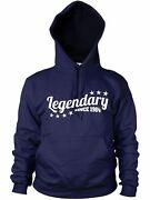 Sale Legendary Since 1984 Hoodie Gift Birthday Uncle Stock Clearance Cem1