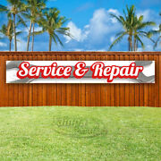 Service And Repair Advertising Vinyl Banner Flag Sign Large Huge Xxl Sizes