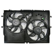 Dual Radiator And Cond Fan For 14-18 Ram Promaster 1500/2500/3500 W/o Ac 3.0l 3.6l