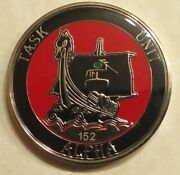 Seal / Sub Delivery Vehicle Team One Sdvt-1 Tu-a Ser152 Navy Challenge Coin