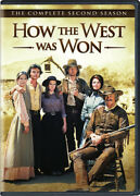 How The West Was Won The Complete Second Season [new Dvd] Boxed Set Full Fra