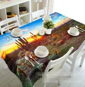 3d Cactus 56 Tablecloth Table Cover Cloth Birthday Party Event Aj Wallpaper Au